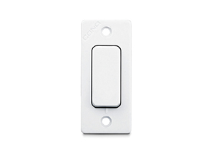 Cona deluxe Ticino 1 Way Switch 6A