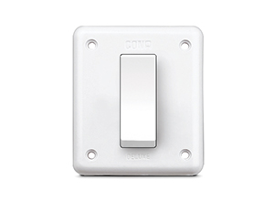 cona deluxe Deluxe Old 1 Way Switch 16A